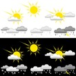 Weather Icon Set - colored illustration