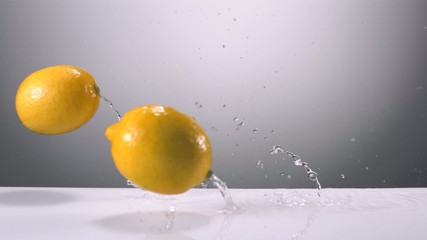 Fresh lemon, Slow Motion