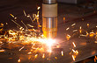 Plasma metal cutting