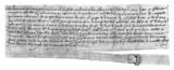 Medieval Script - 14th century poster