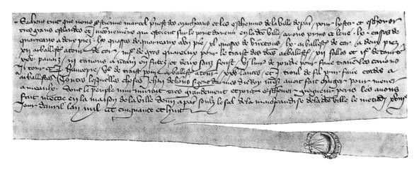 Medieval Script - 14th century