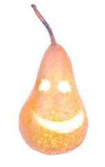 Pear smiling