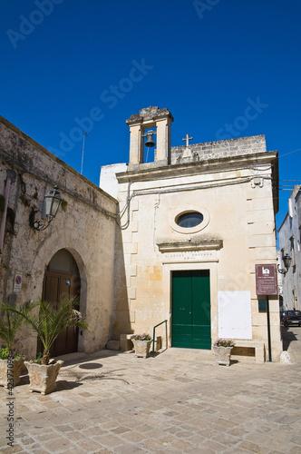 St. Luigi Gonzaga Church. Corigliano d'Otranto. Puglia. Italy. Poster
