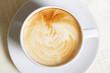 Cappuccino closeup photo