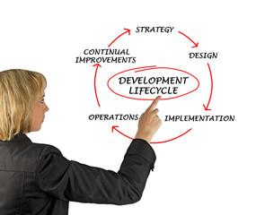 Presentation of development lifecycle