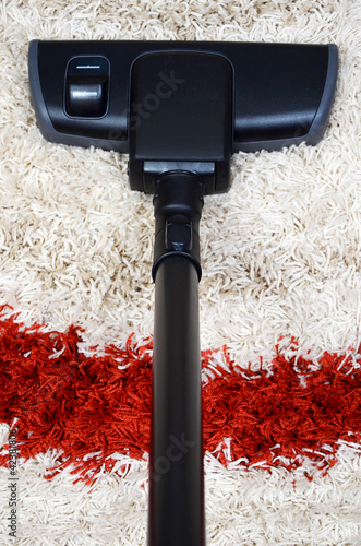 tube and brush vacuum cleaner