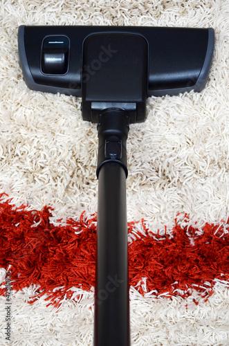tube and brush vacuum cleaner