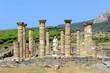 Leinwanddruck Bild - Ciudad romana de Baelo Claudia, Bolonia, Tarifa