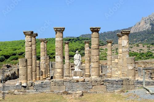 Leinwanddruck Bild Ciudad romana de Baelo Claudia, Bolonia, Tarifa
