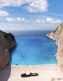Shipwreck of the Navagio Beach in Zakynthos - Greece