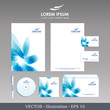 Corporate Identity. Template for Business artworks. Technology