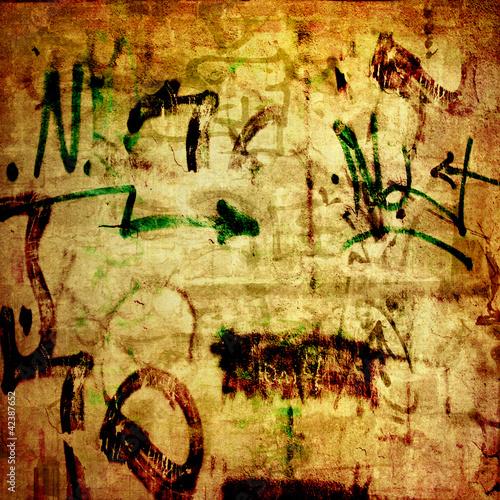 Fototapeten,abstrakt,zement,beton,graffiti