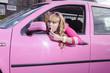 Постер, плакат: Barbie geht einkaufen
