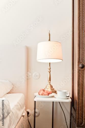 Hotelzimmer mit Frühstück