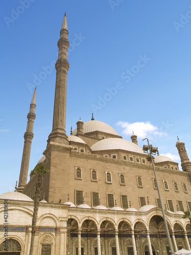 Saladine mosque (Mohamed Ali Citadel) located in Cairo, Egypt