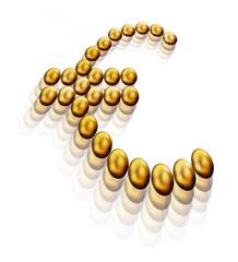 euro uovo d'oro