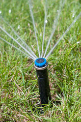 Water sprinkler garden automatic irrigation system