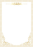 Soyut beyaz davetiye poster
