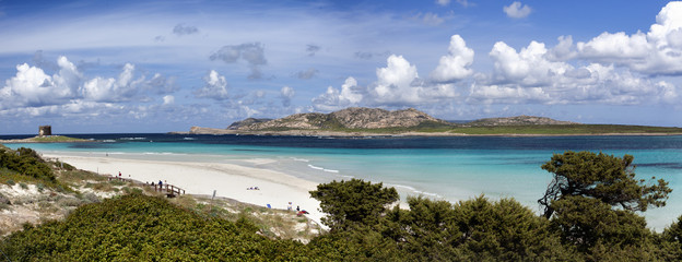 Playa de Stintino (Cerdeña)