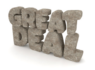 Great Deal made of Stone