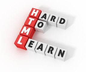 HTML Definition, Hard to learn