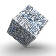 Liebeskummer - Würfel / Cube