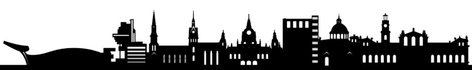 Skyline Hannover mit Wahrzeichen