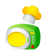 Vector icon microwave