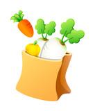 Vector icon vegetable
