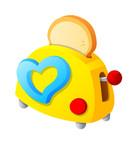 Vector icon toaster