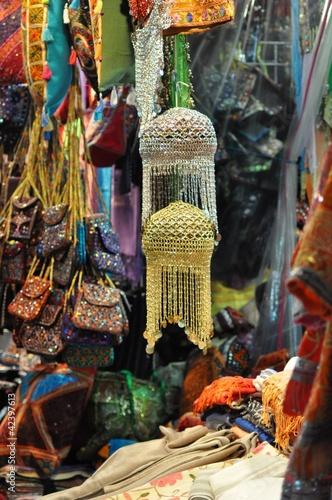 Caps in Mutrah Souq, Muscat