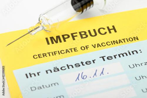 Termin zur Schutzimpfung