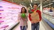 Cute shoppers