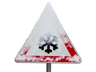 Achtung, Schneeglätte