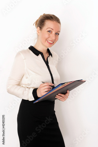 Büroassistentin
