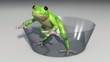 frog animation loopable