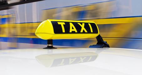 Taxischild in Hamburg