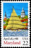 USA - CIRCA 1988 Maryland