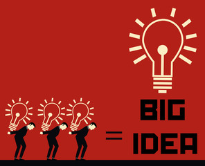 Businessman Big Idea