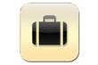 Botón maleta oro