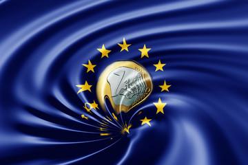 Euro im Abwärtssog