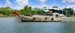 bateau sur le Mékong