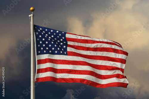 Old Glory Aglow