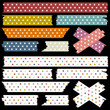 Tape Set Stars Retro Colours