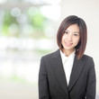 business woman smile portrait