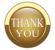 "gold button that says ""Thanks"""