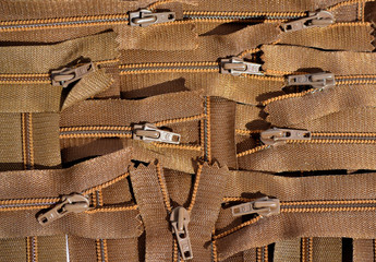 background clothing zippers