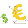 Währungen, Euro jagt Dollar