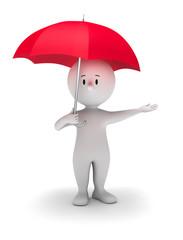 Max mit Schirm 1