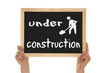 sign - under construction